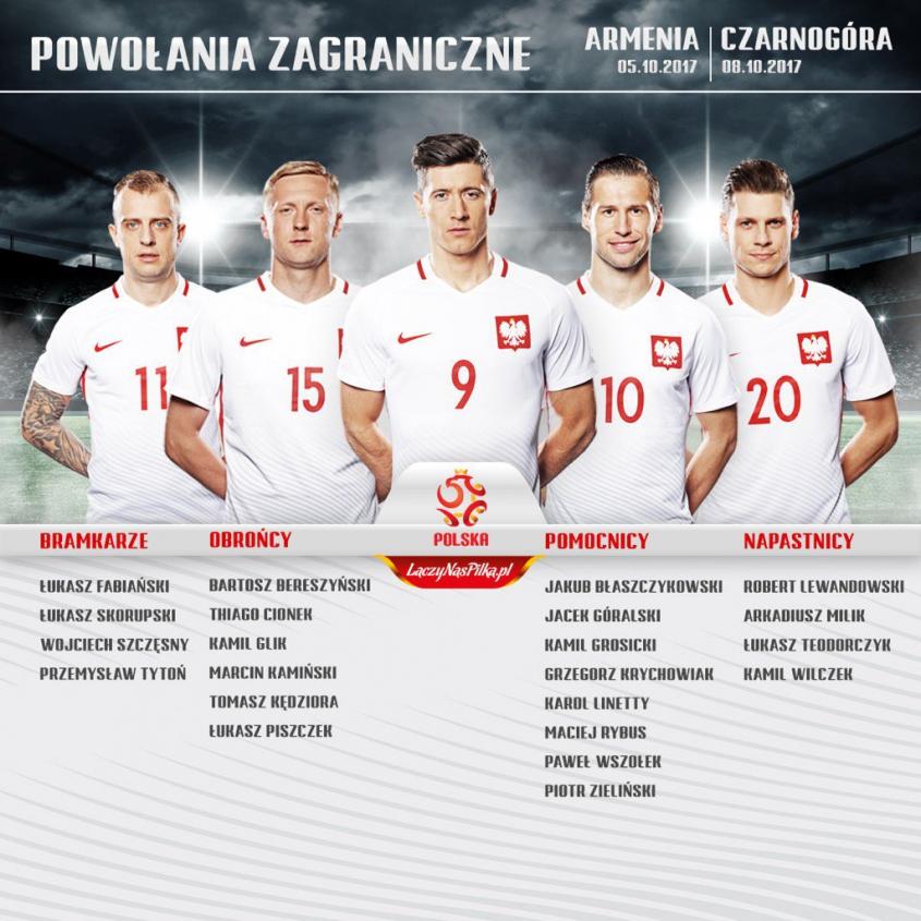 Powołania na finał el. Mistrzostw Świata!