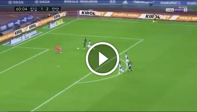 Niesamowity sprint i gol Bale'a! 3-1! [VIDEO]