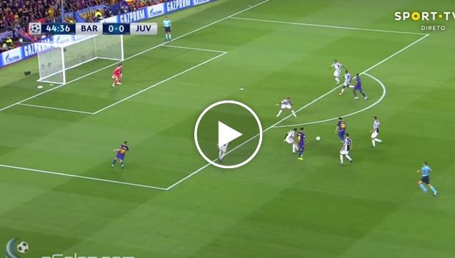 Messi strzela pierwszy raz w historii Buffonowi! [VIDEO]