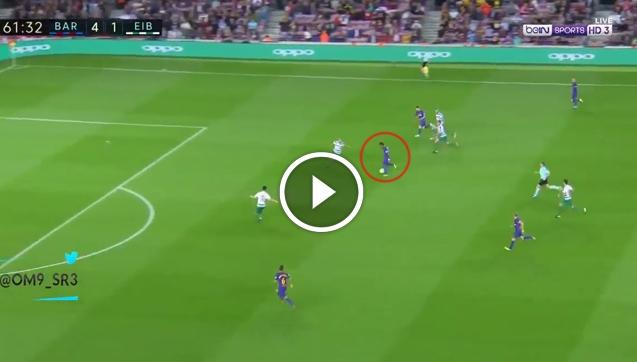 Messi strzela hattricka! Kapitalna asysta Paulinho! [VIDEO]