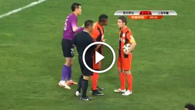 Mączyński też kłócił się o rzut karny.... w Chinach! [VIDEO]