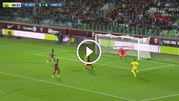 Metz 1:5 PSG (skrót meczu)