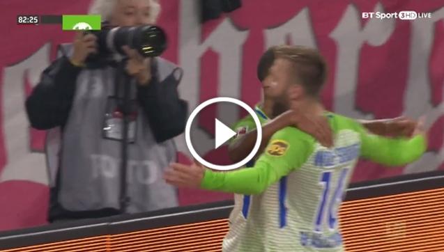Bayern 2:2 Wolfsburg [SKRÓT MECZU]