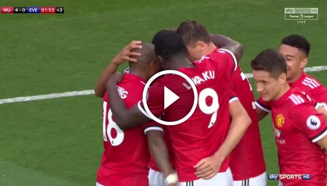 Man United 4-0 Everton (skrót meczu)