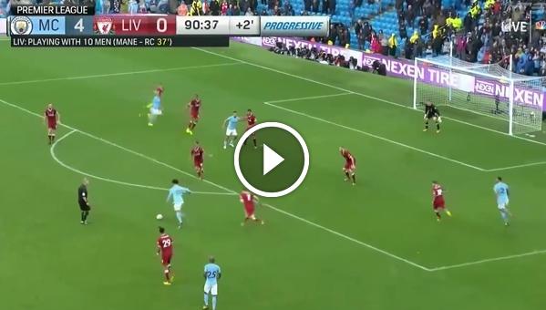 Man City 5:0 Liverpool (skrót meczu)