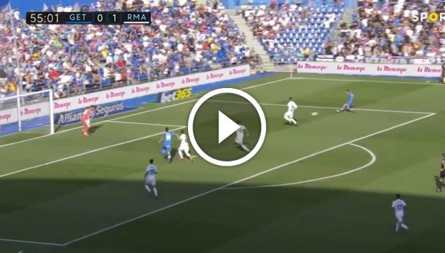 Getafe strzela na 1:1 z Realem Madryt! [VIDEO]