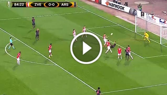 Fenomenalny gol Giroud! [VIDEO]