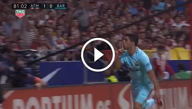 Atletico 1-1 Barcelona [VIDEO]