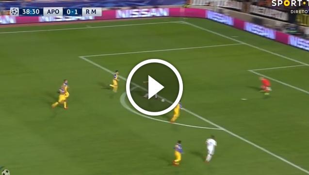 S Z O K! Benzema strzela bramkę w LM! [VIDEO]