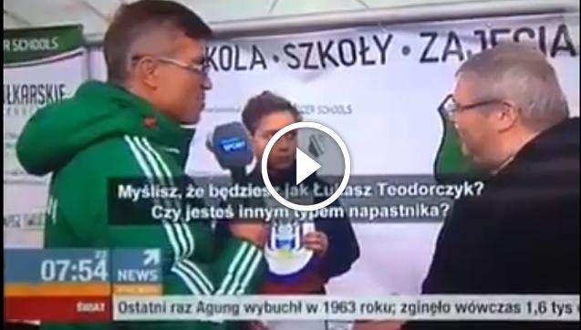 Junior Anderlechtu został zapytany o Teodorczyka.... odpowiedź szokuje! [VIDEO]