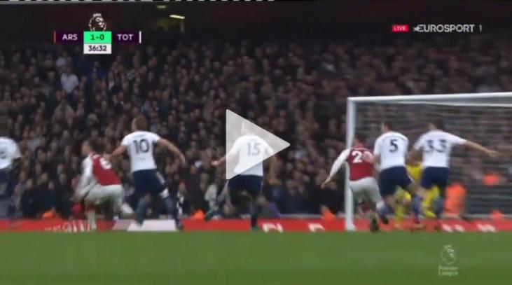 Mustafi strzela na 1-0 z Tottehamem! [VIDEO]