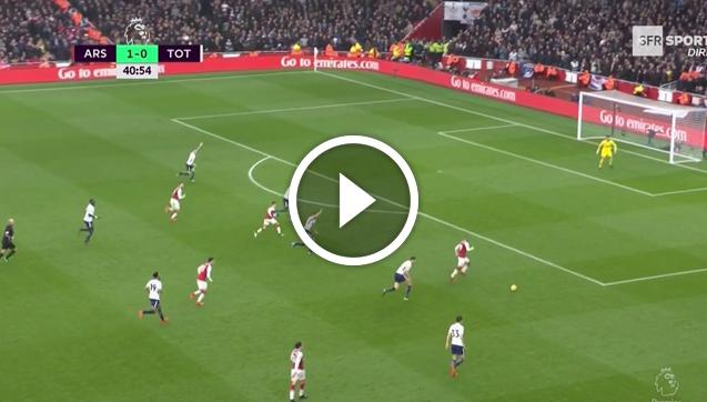 Alexis Sanchez ładuje bramkę na 2-0! [VIDEO]