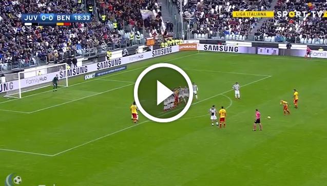 Ciciretti strzela gola Juventusowi! Szczęsny nawet nie zareagował! [VIDEO]