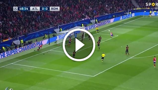 Fantastyczny gol z PRZEWROTKI Griezmanna! [VIDEO]