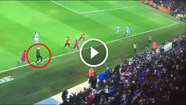 HIT! Man City strzela gola w 96 min, a kontuzjowany Mendy....  [VIDEO]