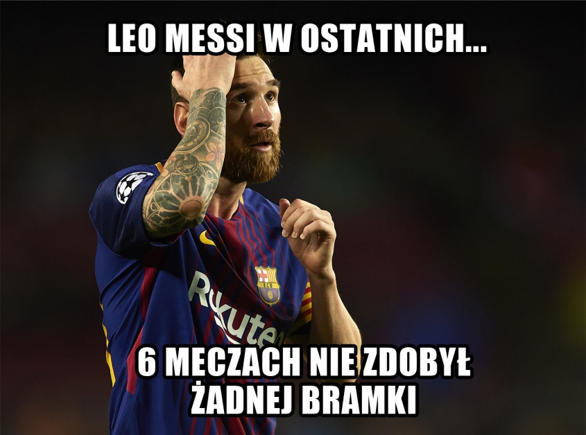 Fatalna passa Leo Messiego...