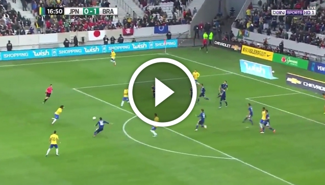 Niesamowita BOMBA Marcelo z Japonią! [VIDEO]