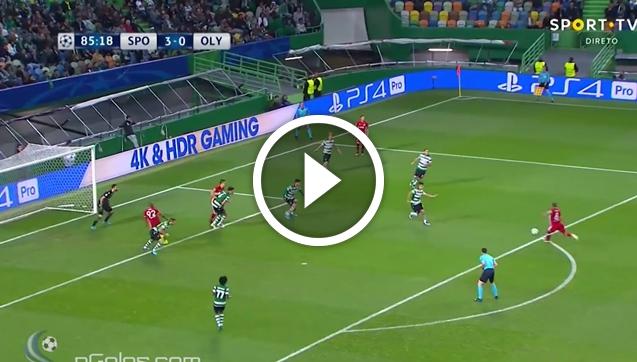 Vadis Odjidja-Ofoe strzela bramkę w Lidze Mistrzów! [VIDEO]