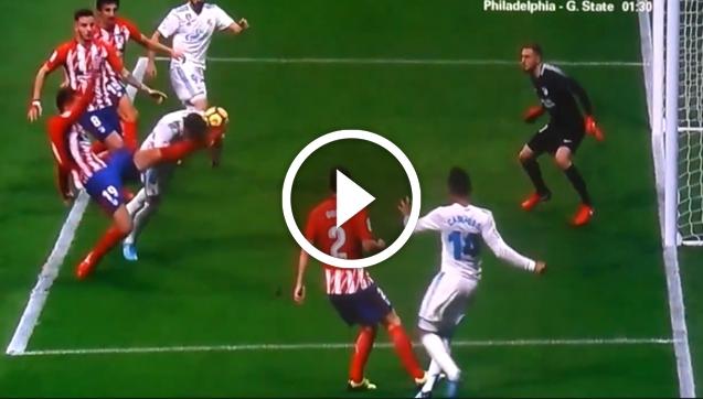 Sergio Ramos dostał kopniaka w twarz! Auć.... [VIDEO]