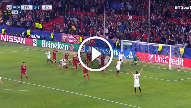 Sevilla 3-3 Liverpool [VIDEO]