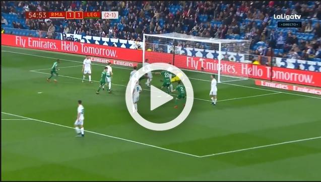 Gabriel strzela gola Realowi Madryt! 1-2 [VIDEO]