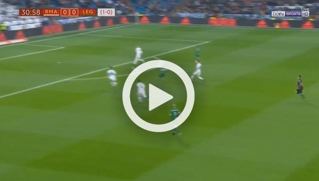 Kapitalny gol Javiera Eraso z Realem Madryt! [VIDEO]