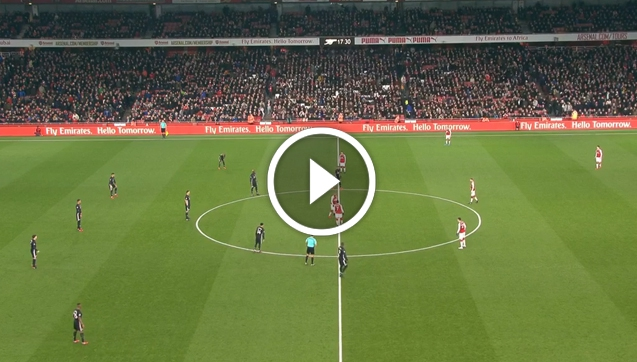 Arsenal 1-3 Man United [VIDEO]