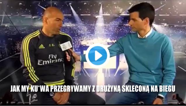 HIT! Zidane ostro po porażce z Leganes [VIDEO]