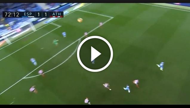 Bramkarz Bilbao wybija piłkę i... trafia w kamerę! [VIDEO]