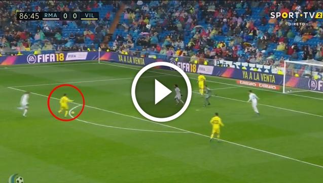 Fornals ładuje gola Realowi Madryt! 0-1 [VIDEO]