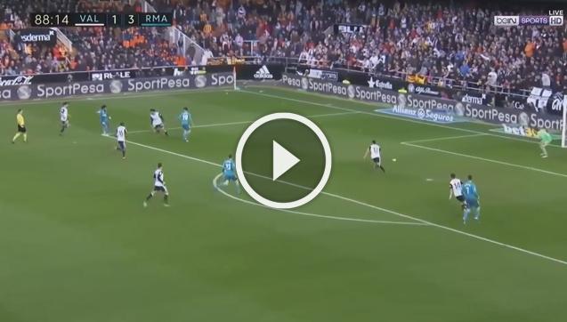 Valencia 1-4 Real Madryt [SKRÓT MECZU]