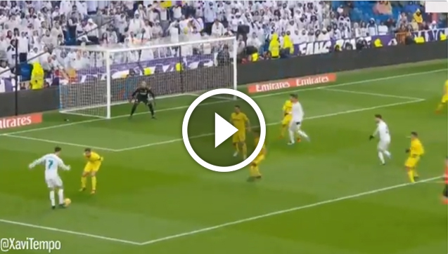 Ronaldo VS Villarreal | Genialna przeróbka! xD [VIDEO]