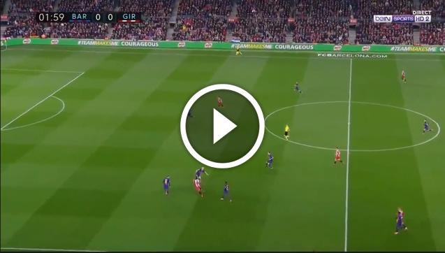 Tragiczny błąd obrony Barcelony! Girona strzela! [VIDEO]