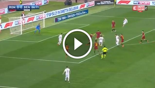 Pierwszy gol Guilherme w Benevento! I to z AS Romą... [VIDEO]