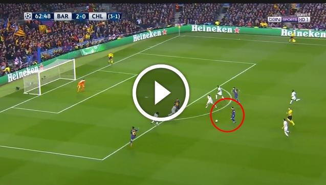 Leo Messi ładuje gola na 3-0 z Chelsea! [VIDEO]