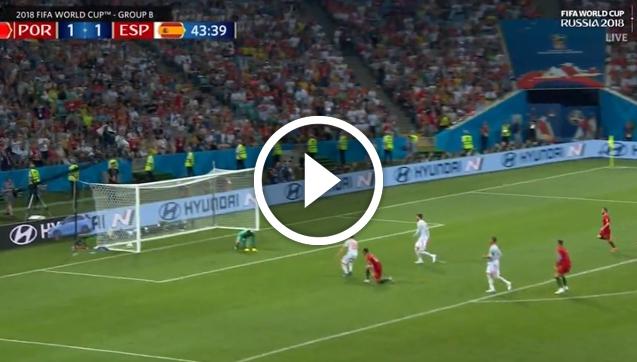 Fatalny błąd De Gei i... GOL Ronaldo! xD [VIDEO]