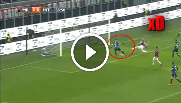 Tragiczne DWA PUDŁA Icardiego w meczu z Milanem  [VIDEO]