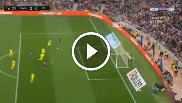 Paulinho strzela gola na 2-0 z Villarreal! [VIDEO]