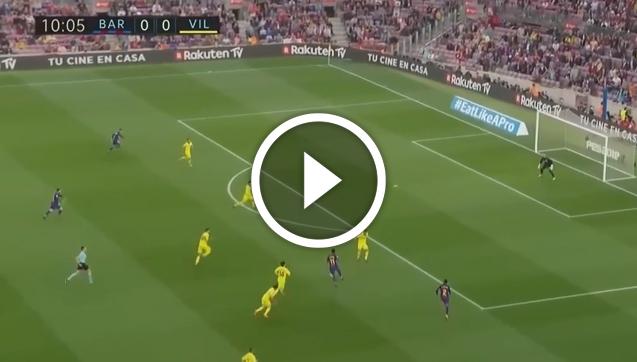 Barcelona 5-1 Villarreal [SKRÓT MECZU]
