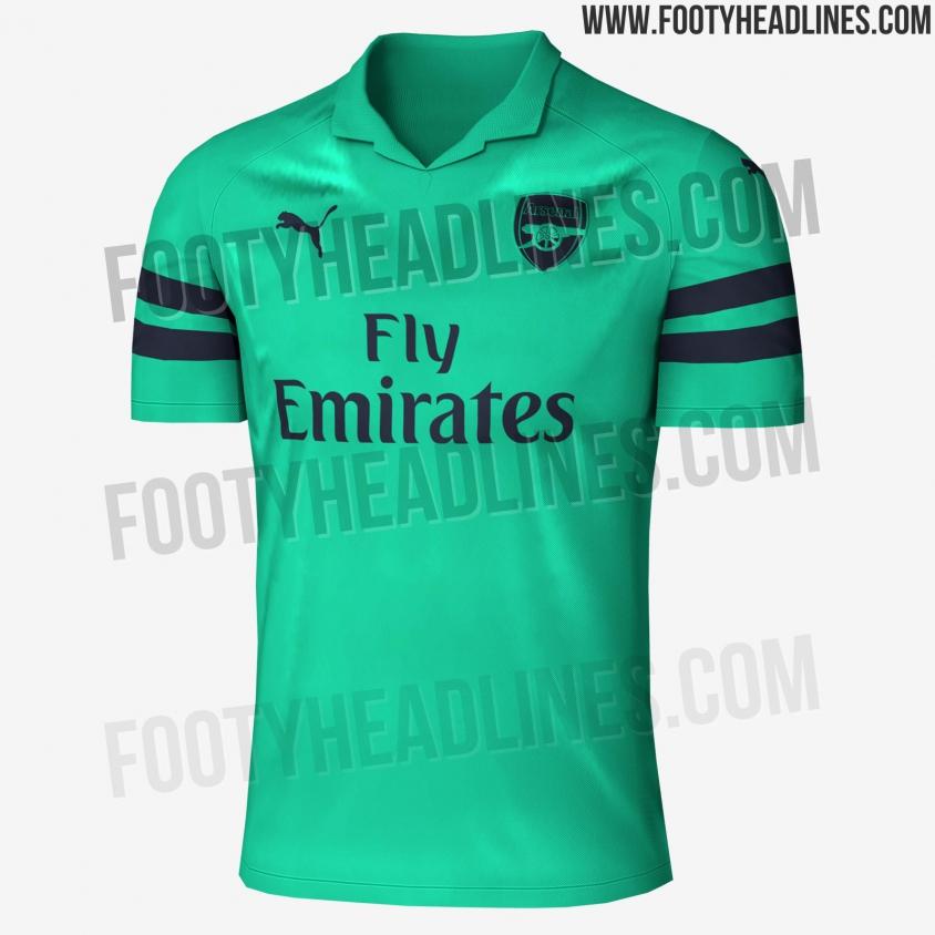 Trzecie koszulki Arsenalu na następny sezon