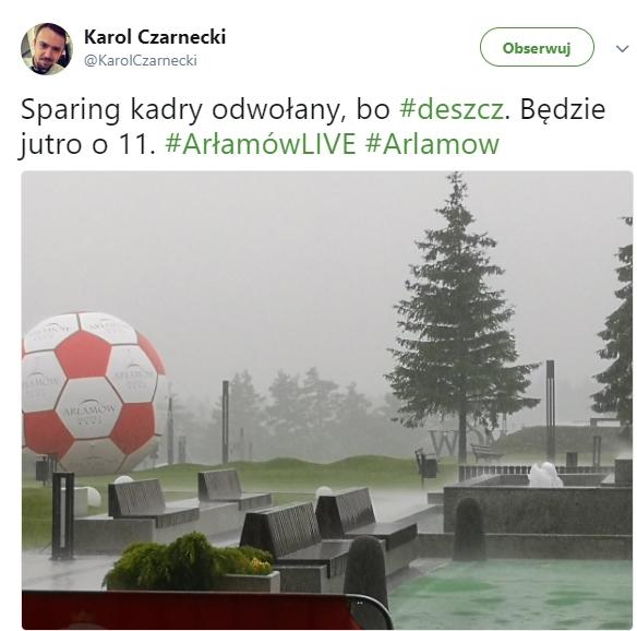 Dlatego sparing reprezentacji Polski został odwołany!