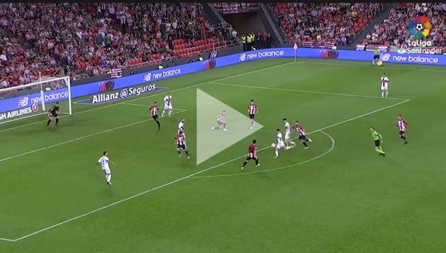 Avila ładuje KOSMICZNEGO gola z Bilbao! [VIDEO]