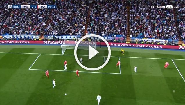 Real Madryt 2-2 Bayern [SKRÓT MECZU]