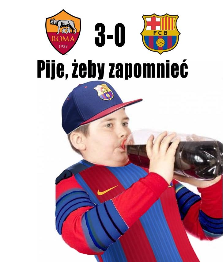 Kibice FC Barcelony w tym momencie... xD