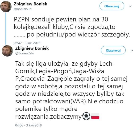 Zaskakujący pomysł Zbigniewa Bońka