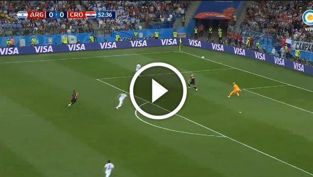 Fatalny błąd Caballero i gol Chorwacji! [VIDEO]