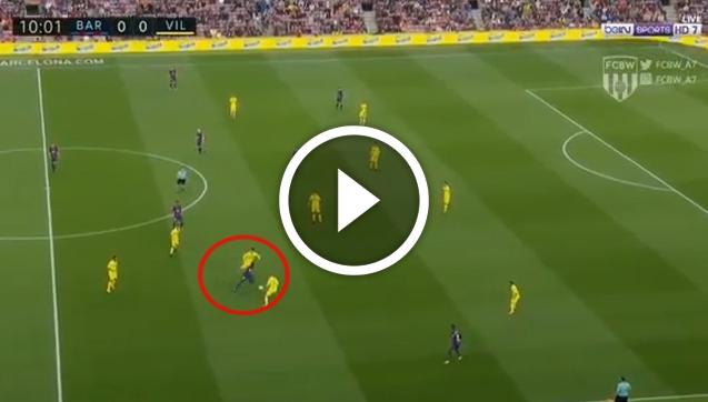GENIALNA akcja Dembele i GOL dla Barcelony! [VIDEO]