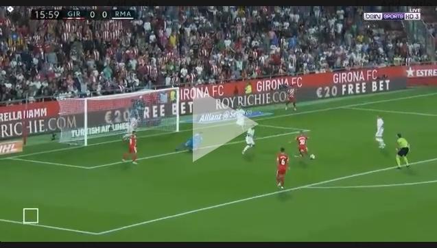 Garcia ładuje GOLA Realowi Madryt! 1-0 [VIDEO]