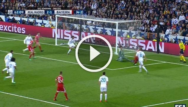 James ładuje gola z Realem! 2-2 [VIDEO]