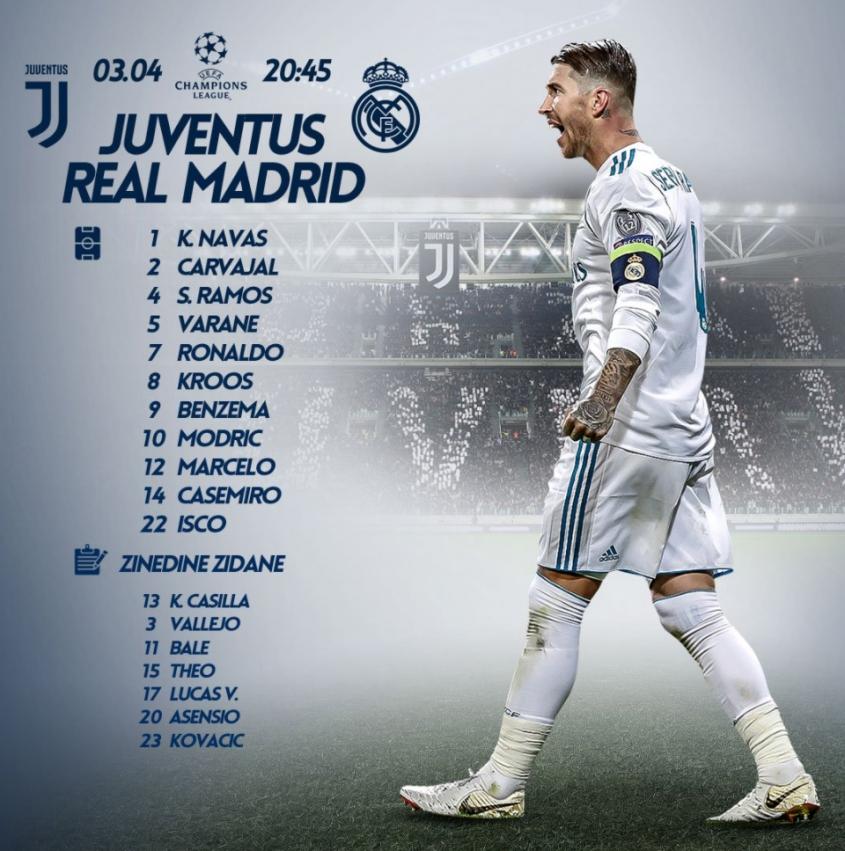 OFICJALNIE! Znamy składy na mecz Juve - Real
